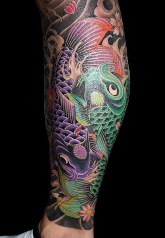 カラー 鯉