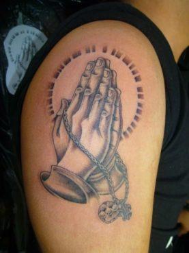 """""""ブラック&グレー Pray Hands """""""