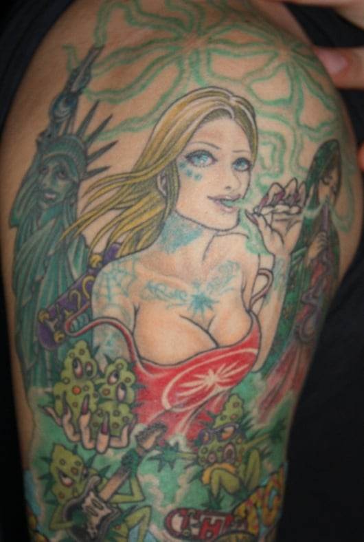 カラー アメリカンガール 自由の女神
