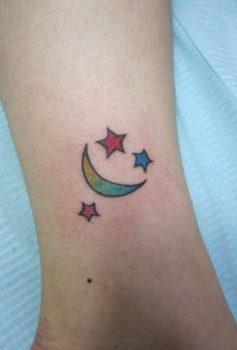 ガールズ 月と星