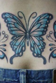 ガールズ トライバル蝶
