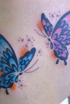 ガールズ カラー 蝶