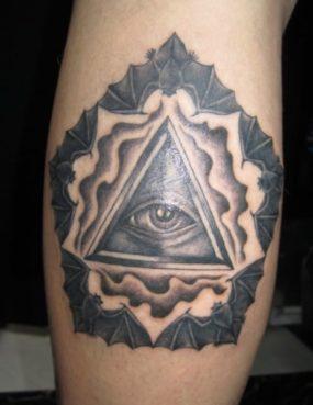 ブラック&グレー プロビデンス・アイ Providence eye