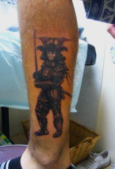 和彫り 侍 SAMURAI
