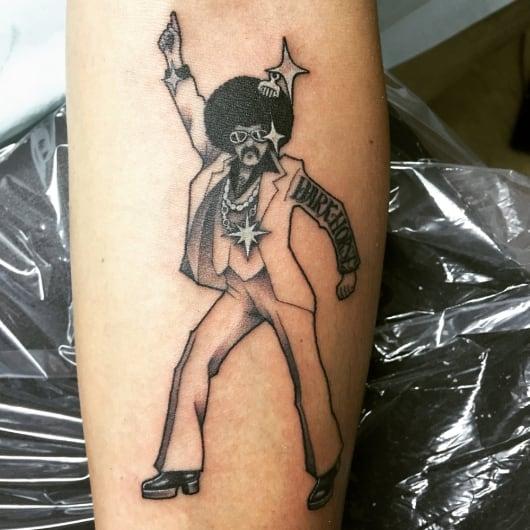 ブラック&グレー ディスコキング disco king