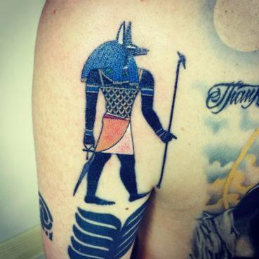 カラー エジプト セト神