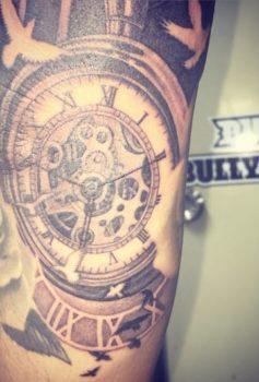 ブラック&グレー 時計