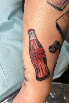 カラー コーラ 瓶