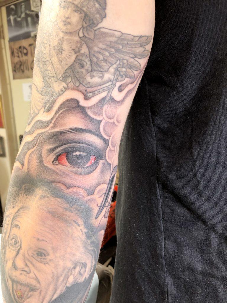 ブラック&グレー stoned eye